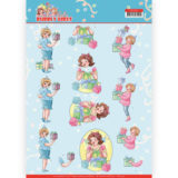 CD11475 3D cutting sheet - Yvonne Creations - Bubbly Girls - Party - Decorating