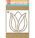 PS8060 - Tulip - Craftstencil - Marianne Design