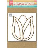 PS8060 - Tulip - Craftstencil - Marianne Design