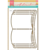 PS8061 - Open book - Craftstencil - Marianne Design
