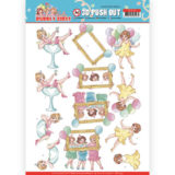 SB10439 3D Pushout - Yvonne Creations - Bubbly Girls - Party - Let's have fun