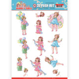 SB10441 3D Pushout - Yvonne Creations - Bubbly Girls - Party - Party Time