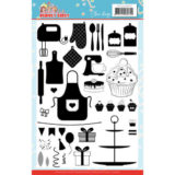 YCCS10057 Clear Stamps - Yvonne Creations - Bubbly Girls - Party