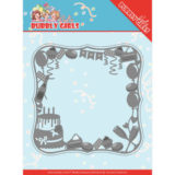 YCD10200 Dies - Yvonne Creations - Bubbly Girls Party - Celebrations Frame