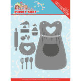 YCD10201 Dies - Yvonne Creations - Bubbly Girls Party Apron