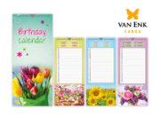 bloemen verjaardagskalender 2