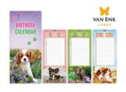 Honden verjardaagskalender 2