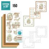 Deze handige borduursetjes bevatten drie 3D-afbeeldingen met 3 kleuren kaartkarton voor vierkante kaarten. Inclusief 3 x 50 m Stitch and Do Garen, 3x oplegkaartjes met een patroon en instructies. De oplegkaarten zijn voorgeprikt. Super handig, dus ook leuk om mee te nemen, of cadeau te doen als startersetje. De kleuren van de garens komen overeen met de kleurnummers van het kaartkarton.